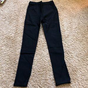 Pants - black jeggings w/o back pockets